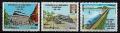 Serie de sellos  Guatemala ferrocarriles Nº 0762-4 (**)
