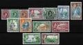 Serie de sellos  Jamaica ferrocarriles Nº 0123-35 (**)