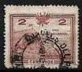 Serie de sellos Perú (Tacna y Arica) ferrocarriles Nº 0226 (o)