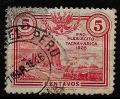 Serie de sellos Perú (Tacna y Arica) ferrocarriles Nº 0221 (o)