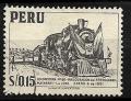 Serie de sellos Perú ferrocarriles Nº 0429 (o)