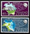Serie de sellos Trinidad y Tobago ferrocarriles Nº 0332-33 (**)