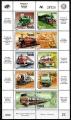 Serie de sellos Venezuela ferrocarriles Nº 1646-55 (**)