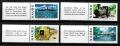 Serie de sellos Nauru ferrocarriles Nº 0251-4 (**)