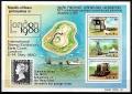 Serie de sellos Nauru ferrocarriles Nº HB3 (**)