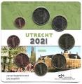 Serie monedas euro. Holanda 2021 S/C
