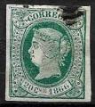 Serie sellos Cuba colonia española 0015. Isabel II (o)