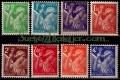 Serie sellos Francia 0649/56 (**). Gobierno Provisional