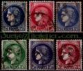 Serie sellos Francia 0372/76 (o)