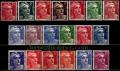 Serie sellos Francia 0712/24 (**)