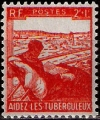 Serie sellos Francia 0736 (**)