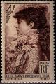 Serie sellos Francia 0738 (**)