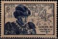 Serie sellos Francia 0743 (**)