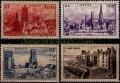 Serie sellos Francia 0744/47 (**)
