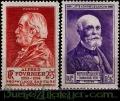 Serie sellos Francia 0748/49 (**)