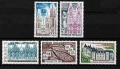 Serie sellos Francia 1806/10 (**)