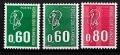 Serie sellos Francia 1814/16 (**)
