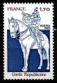 Serie sellos Francia 2115 (**)