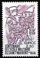 Serie sellos Francia 2140 (**)