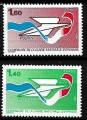Serie sellos Francia 2165/66 (**)