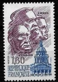 Serie sellos Francia 2172 (**)