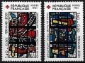 Serie sellos Francia 2175/76 (**)