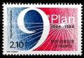 Serie sellos Francia 2346 (**)
