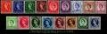 Serie sellos Inglaterra 0262/78 (*)
