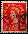 Serie sellos Inglaterra 0263 (o). Suelto