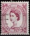Serie sellos Inglaterra 0270 (o). Suelto