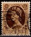 Serie sellos Inglaterra 0276 (o). Suelto