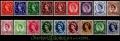 Serie sellos Inglaterra 0287/301 (**)