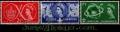 Serie sellos Inglaterra 0302/04 (**)