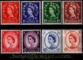 Serie sellos Inglaterra 0343/50 (**)