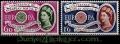 Serie sellos Inglaterra 0357/58 (**)