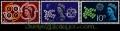 Serie sellos Inglaterra 0362/64 (**)