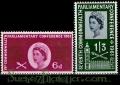 Serie sellos Inglaterra 0365/66 (**)