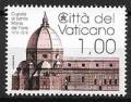 Serie sellos Vaticano S/N 2018. Cúpula Sta. Maria Florencia