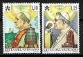 Serie sellos Vaticano S/N 2018. Aniv. Pablo VI y Juan Pablo I