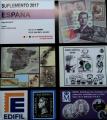 Suplemento 2017 sellos España (solo sellos y HB). Montado