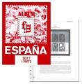 Suplemento 2017 sellos España completo.  Montado
