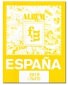 Suplemento 2019 sellos España 1ª parte.  Montado