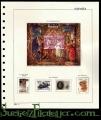 Suplemento de sellos España 2013 Pardo. Montado y con sellos