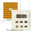 Suplemento de sellos España 2014 Pardo. Montado y con sellos